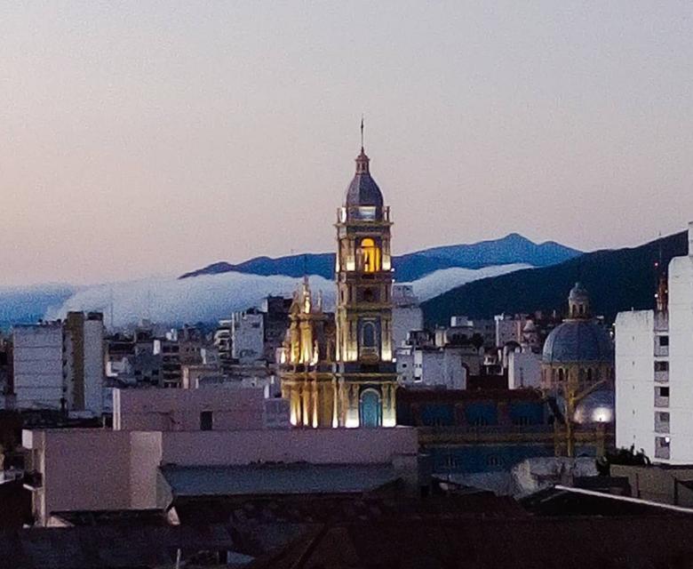 Ciudad de Salta al norte de Argentina