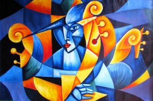 Mujer abstracta