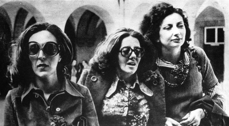 """""""Las Tres Marias"""", Maria Velho da Costa, María Teresa Horta y María Isabel Barreno."""