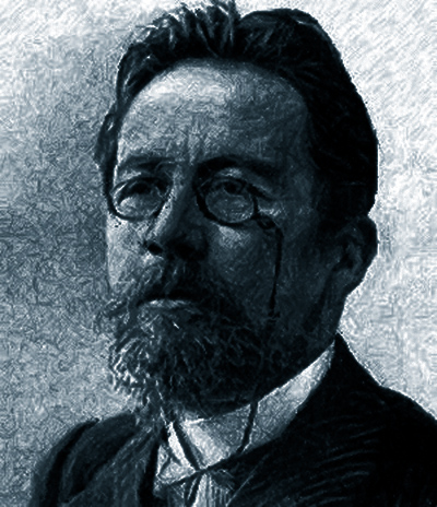 El escritor y medico ruso Antón Chejov